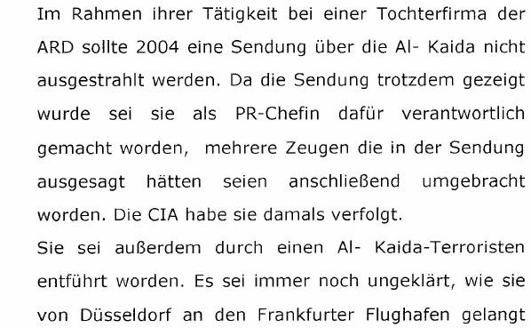 Update11 Duesseldorf Psychiatrie: Al Qaeda & WDR gibt es nicht - der ...