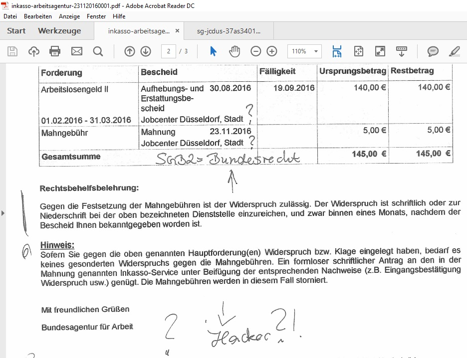 Update28 Illegales Jobcenter Duesseldorf 0 Gehaelter Lsg6
