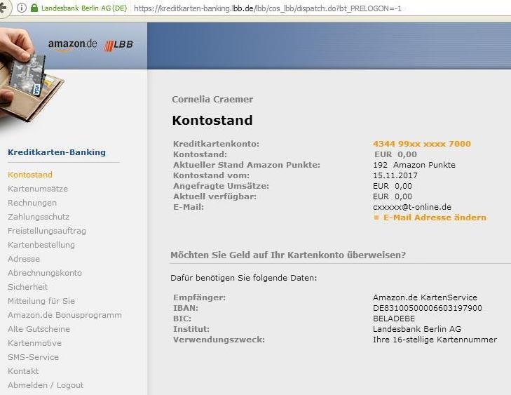 landesbank berlin visa amazon login